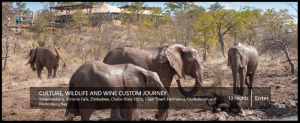 Culture, Wildlife And Wine Custom Journey